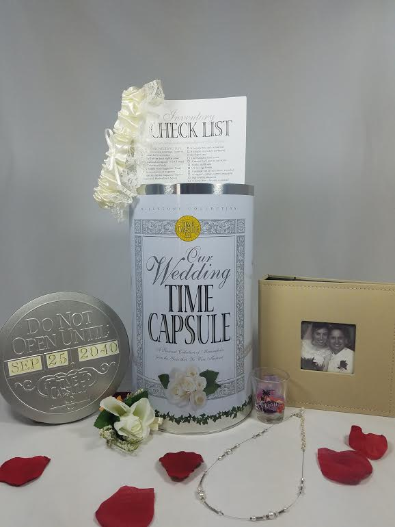Wedding Time Capsule - with Inventory Checklist
