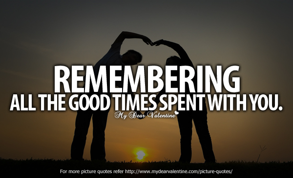 Remembering is Important - Friends