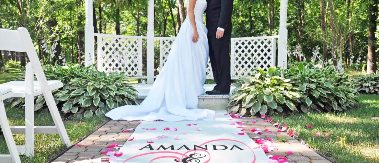 Wedding Ceremony Ideas - Aisle Runner