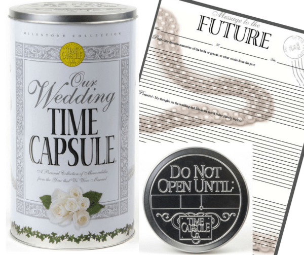 Wedding Time Capsule and Message to the Future Letter