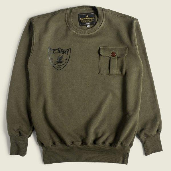 Vintage Military Sweatshirt US Army Camp