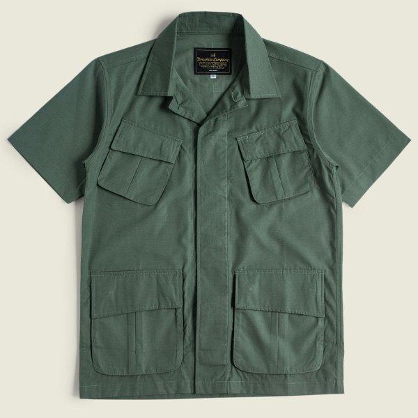 Flynn Jungle Shirt Jungle Fatigue Tropical Jacket Vietnam War