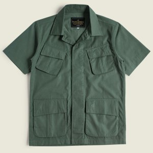 Flynn Jungle Shirt Jungle Fatigue Tropical Jacket Vietnam War