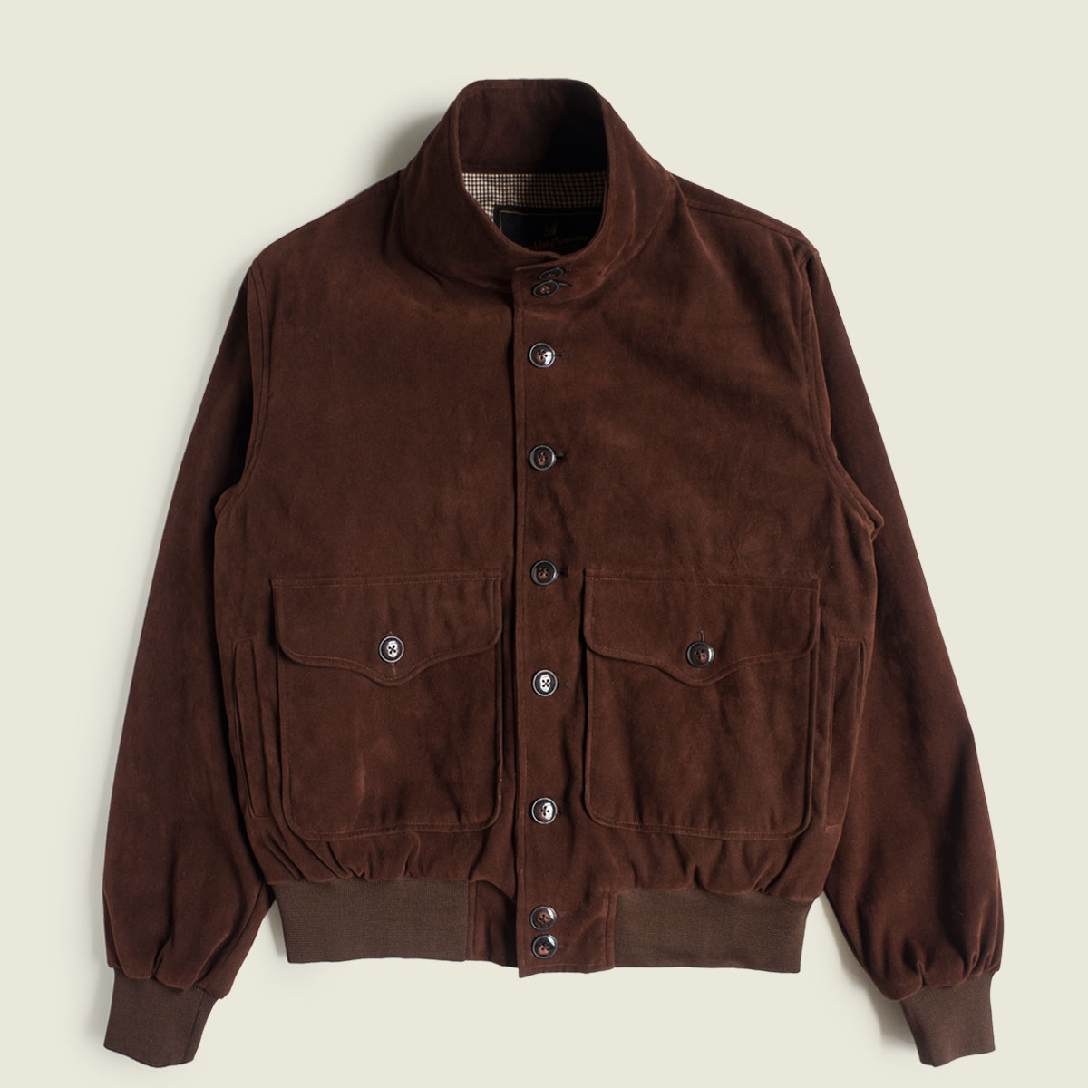 A-1 Suede Flight Jacket