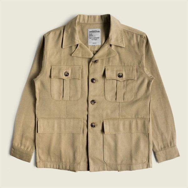 Vintage Bush Safari Jacket British Raf