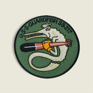 USS Guardfish Patch