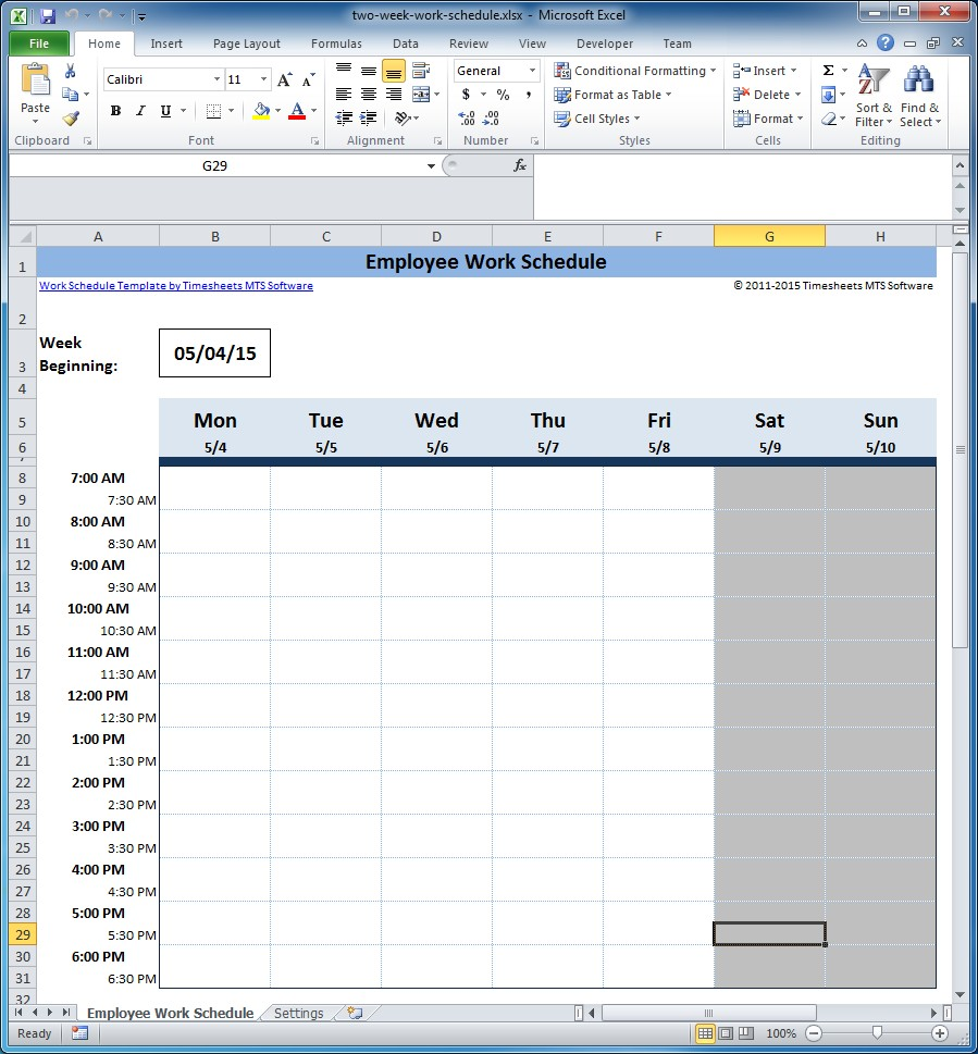 Image Result For Employee Hour Tracking Software