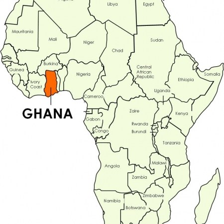 Ghana Karte.Many Blacks Moving From The U S To Africa Time For An Awakening