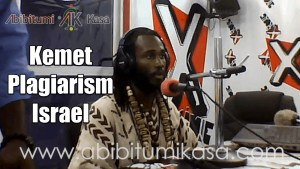 "X-Live Interview: Kemet, Plagiarized ""Holy"" Texts, and what Israel was in Relation to Black People"