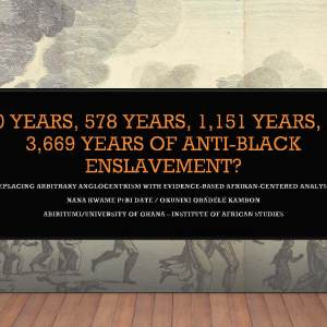 400 years? Replacing Arbitrary anglocentrism with Afrikan=Black Centered Analysis