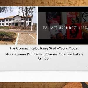 The Community-Building Study-Work Model