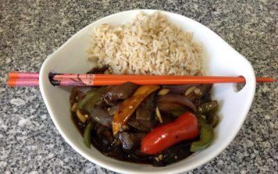 Spicy Szechuan Eggplant