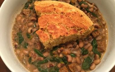 Cajun Blackeyed Peas In Your Instant Pot!