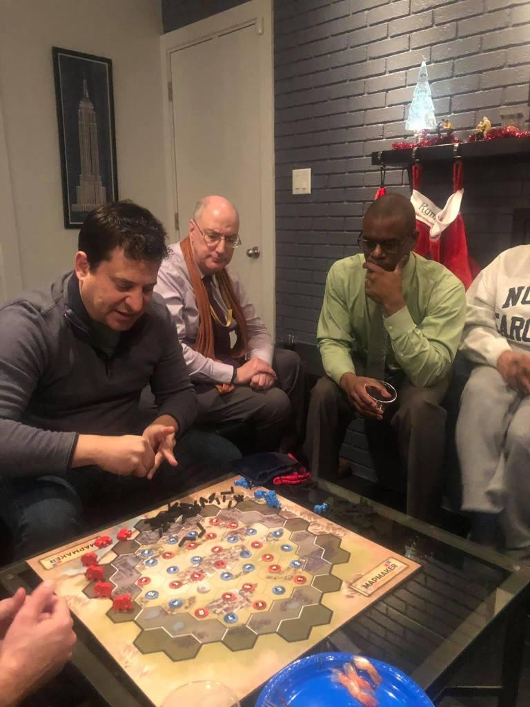 Gerrymandering Game