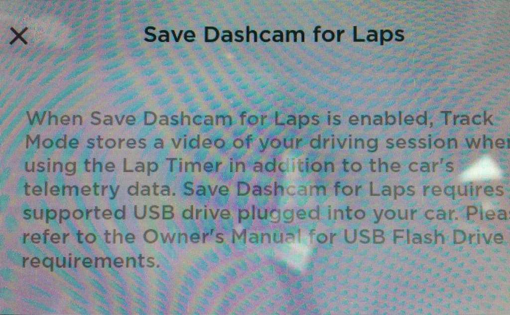 DashCam for Laps