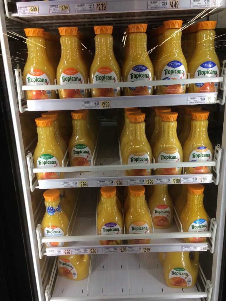 Wegmans Orange Juice, Covidapolis
