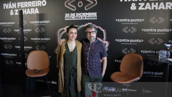 Iván Ferreiro y Zahara presentan 'contrapunto'