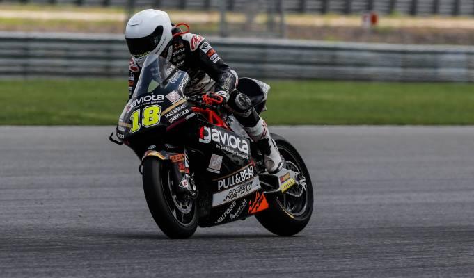 Xavi Cardelús en el Gran Premio de Tailandia