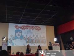 """Cécile Thibaud y Begoña Piña en """"La Conversación"""" / Fuente: Marta Alberca."""