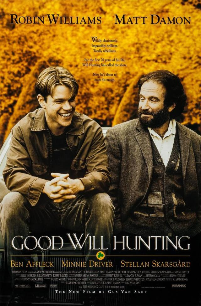 El indomable Will Hunting / Fuente: Filmaffinity
