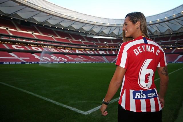 Deyna Castellanos, la nueva delantera del Atlético de Madrid