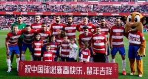 El equipo posando para la foto en conmemoración del Año Nuevo Chino