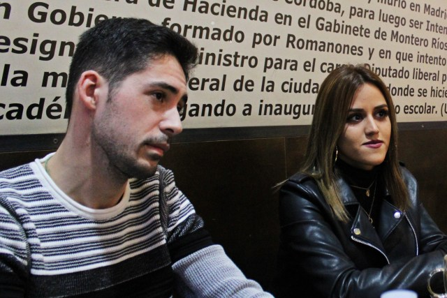D'Angelo y Stefany Zerpa