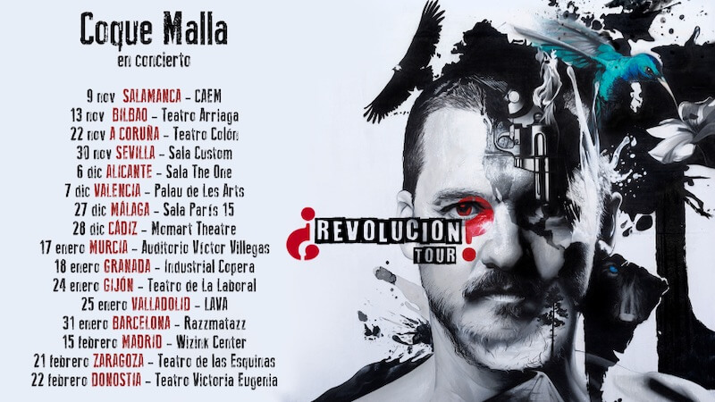 """Gira """"¿Revolución?"""" de Coque Malla"""