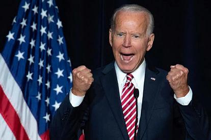 El ex vicepresidente Joe Biden durante un acto demócrata en Dover (Delaware). SAUL LOEB AFP