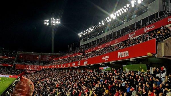 Afición durante el partido