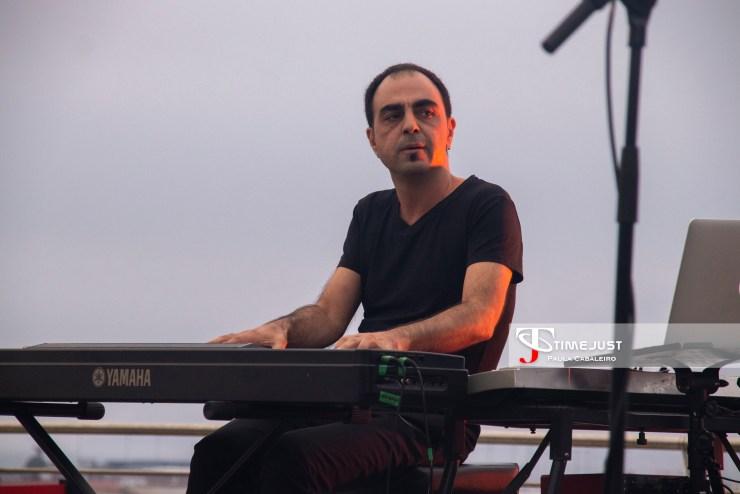 David Lads en el Festival TerraCeo de Vigo. // Foto: Paula Cabaleiro