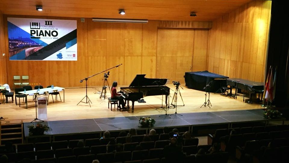 "III Concurso Internacional de Piano ""Cidade de Vigo"""