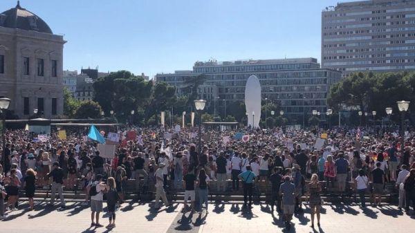 Manifestación Colón