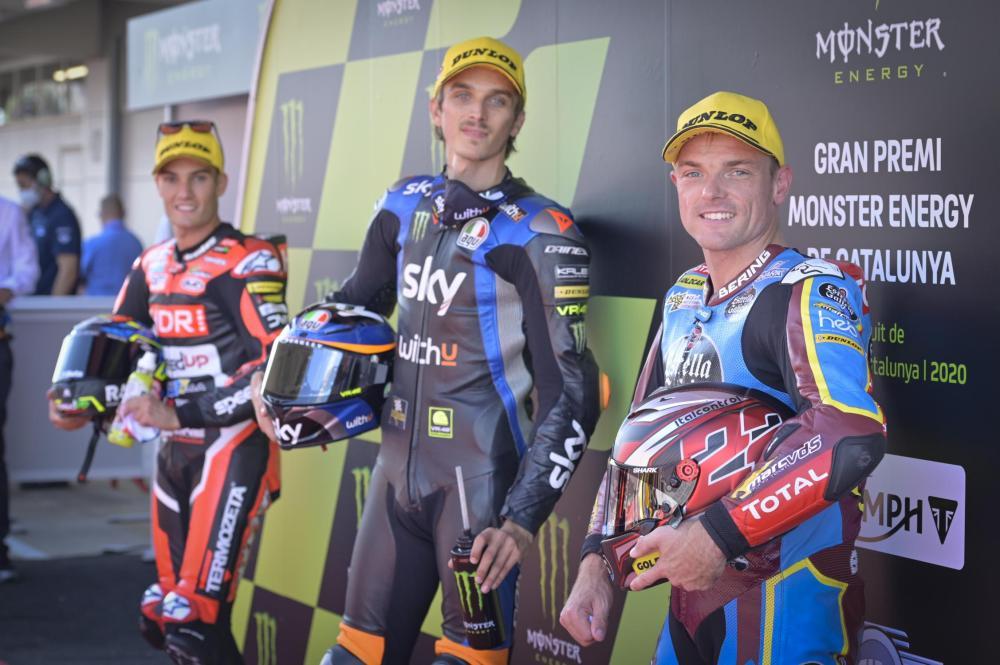 Luca Marini se lleva la pole en el Gran Premio de Barcelona - Catalunya