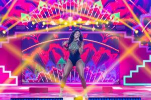 Nía Correia durante su actuación en el CCME. // Fuente: @CocaCola_es