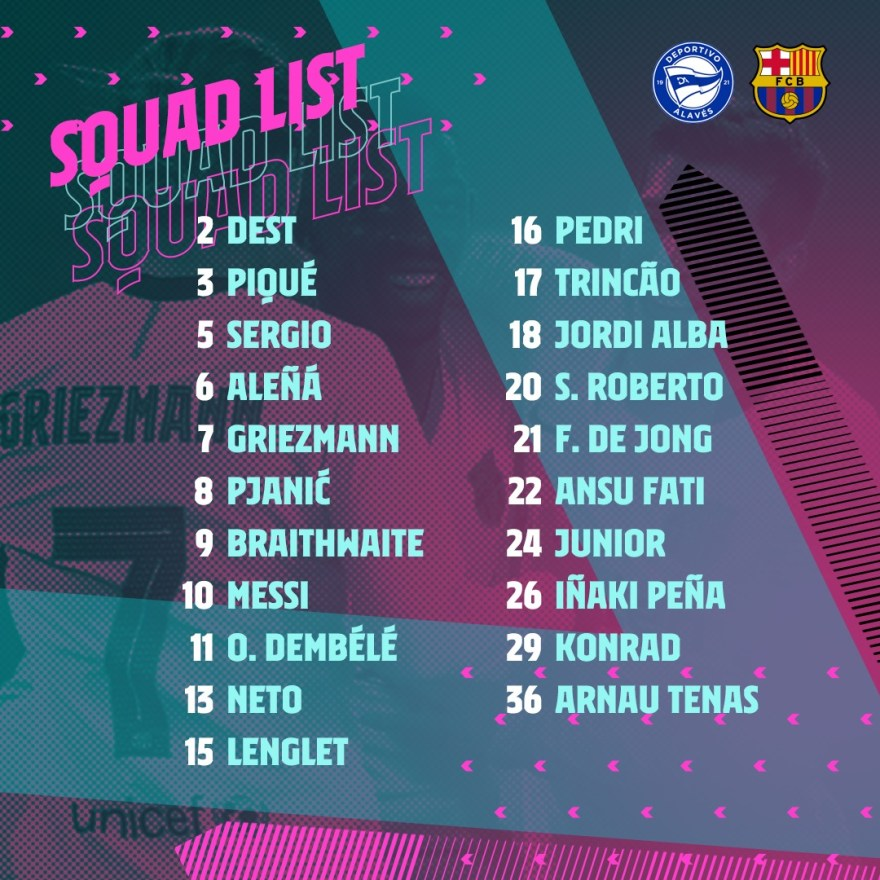 Alavés-Barça