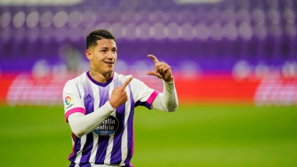 Marcos André celebrando su gol