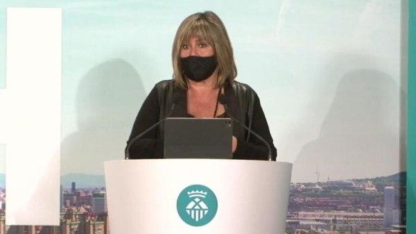 Núria Marín, alcaldesa de l'Hospitalet y presidenta de la Diputación de Barcelona