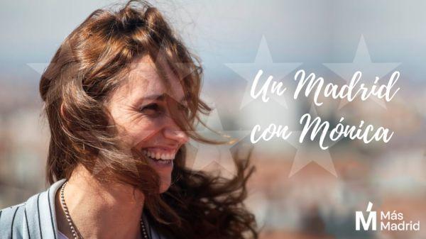 Mónica García, candidata de Más Madrid.