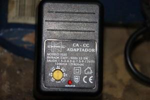 Adaptador de corriente