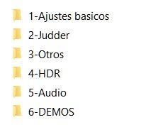 [GUIA DE AJUSTES] Patrones de vídeo y audio (Revisión 2021)