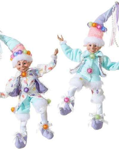 Candy theme Christmas Elves