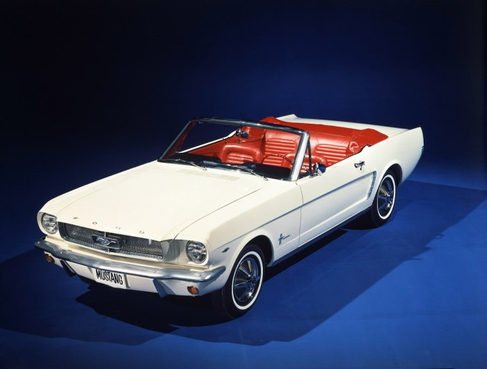1964 1/2 Ford Mustang Convertible.