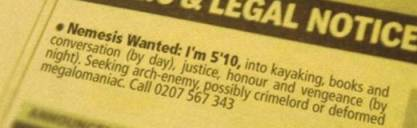 spoof classified ads