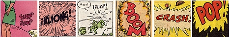 flickr set of sound and motion effects from comics