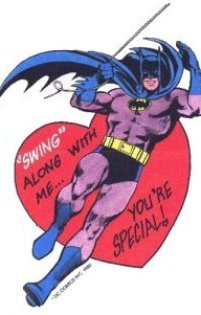 Batman Valentines Day Card