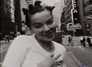 big time sensuality -- bjork in nyc on a flatbed truck