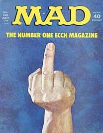 Mad Magazine Cover #166
