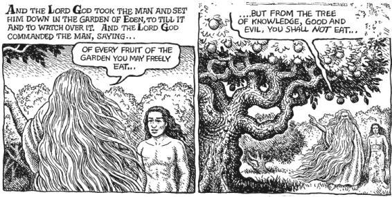 Robert Crumb's Genesis