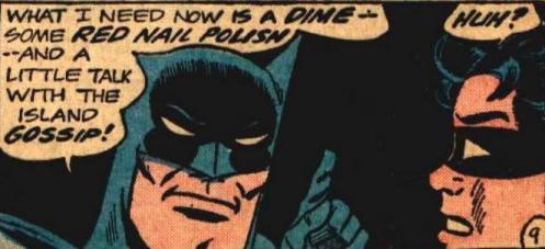 What Batman Needs...